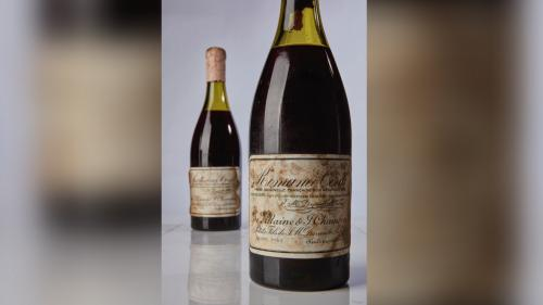 Un romanée-conti millésime 1945, adjugé à 482 000 euros, devient la bouteille de vin la plus chère de l'histoire