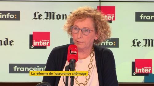"""VIDEO. Remaniement : """"Quand on choisit quelqu'un, on prend le temps"""", estime la ministre du Travail Muriel Pénicaud"""