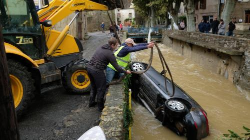 Intempéries dans l'Aude : des inondations meurtrières
