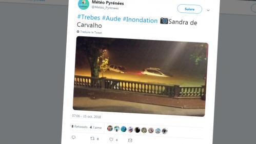 Alerte rouge dans l'Aude : des précipitations inédites depuis 1996