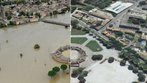 AVANT/APRES : regardez les dégâts causés par les inondations dans l'Aude