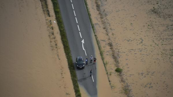 Inondations : la solidarité s'organise à Conques-sur-Orbiel