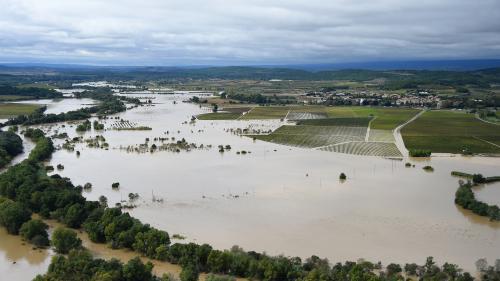 Inondations dans l'Aude : les habitants de Villegailhenc sont sidérés
