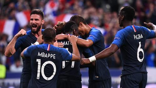 Foot : la France bat l'Allemagne 2-1 et se rapproche de la phase finale de la Ligue des nations