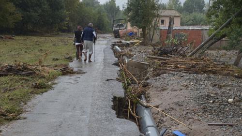 DIRECT. Intempéries: la préfecture de l'Aude réévalue le bilan à 12 morts