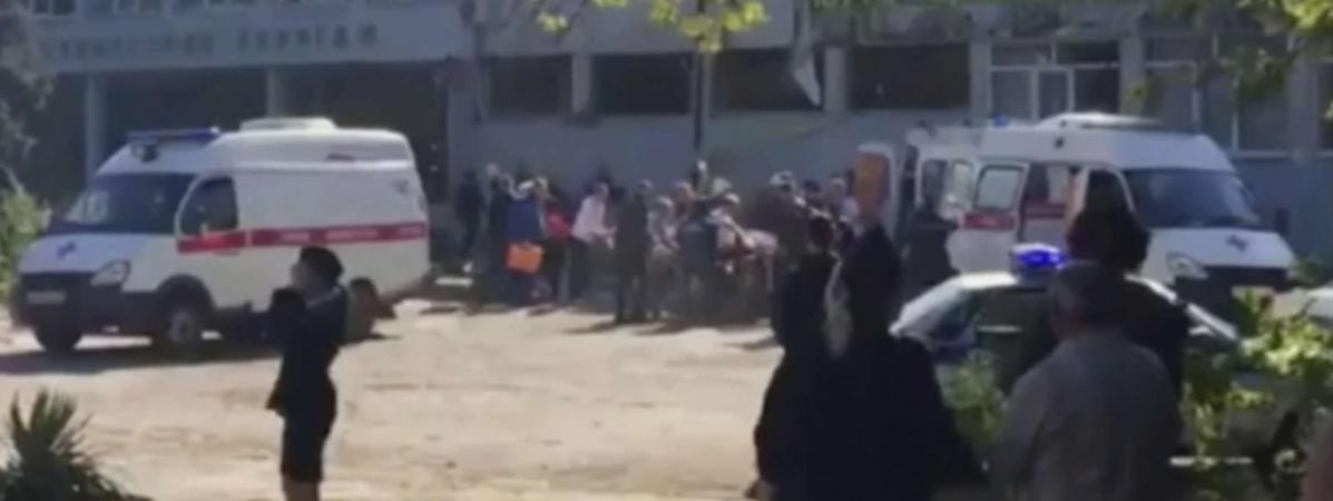 Crimée : au moins 19 morts après une tuerie suivie d'une explosion dans un collège