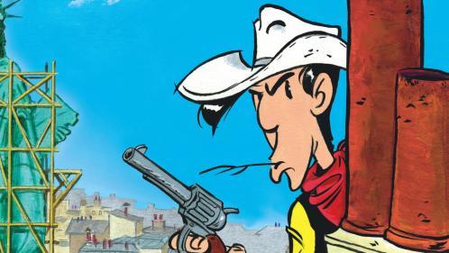 """Jolly Jumper, Joe Dalton... On dégaine les histoires secrètes de Lucky Luke pour la sortie du 80e opus, """"Un cow-boy à Paris"""""""