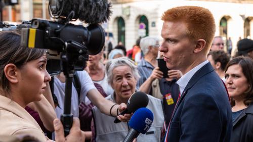 """VIDEO. La campagne présidentielle de la France insoumise n'était """"pas une campagne onéreuse"""", estime Adrien Quatennens"""