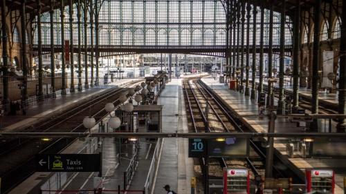 """Paris : la gare du Nordfermée pour """"des travaux extrêmement importants, qui ont nécessité 4ans d'étude et 4ans de préparation"""""""