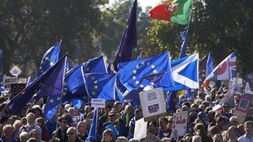 VIDEO. A Londres, des centaines de milliers de manifestants réclament un second référendum sur le Brexit