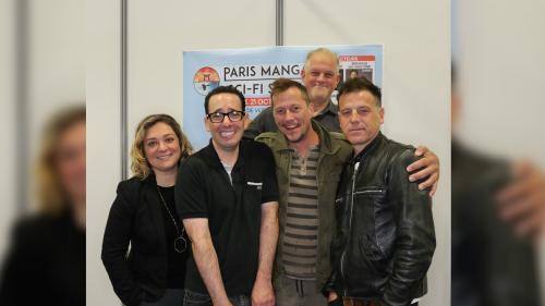 """Les acteurs de """"Parker Lewis ne perd jamais"""" se réunissent à Paris, vingt-cinq ans après la fin de la série"""