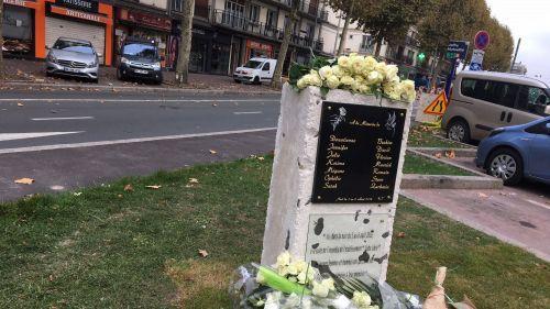 Rouen : une stèle installée en hommage aux 14 victimes de l'incendie du bar Cuba Libre