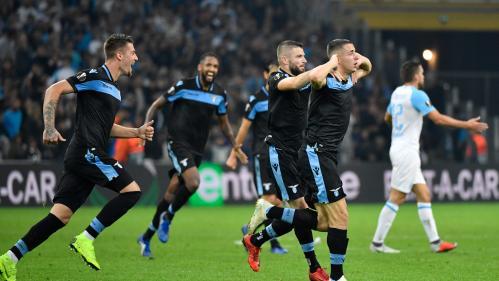 Ligue Europa : battue par la Lazio (1-3), Marseille voit la qualification s'éloigner