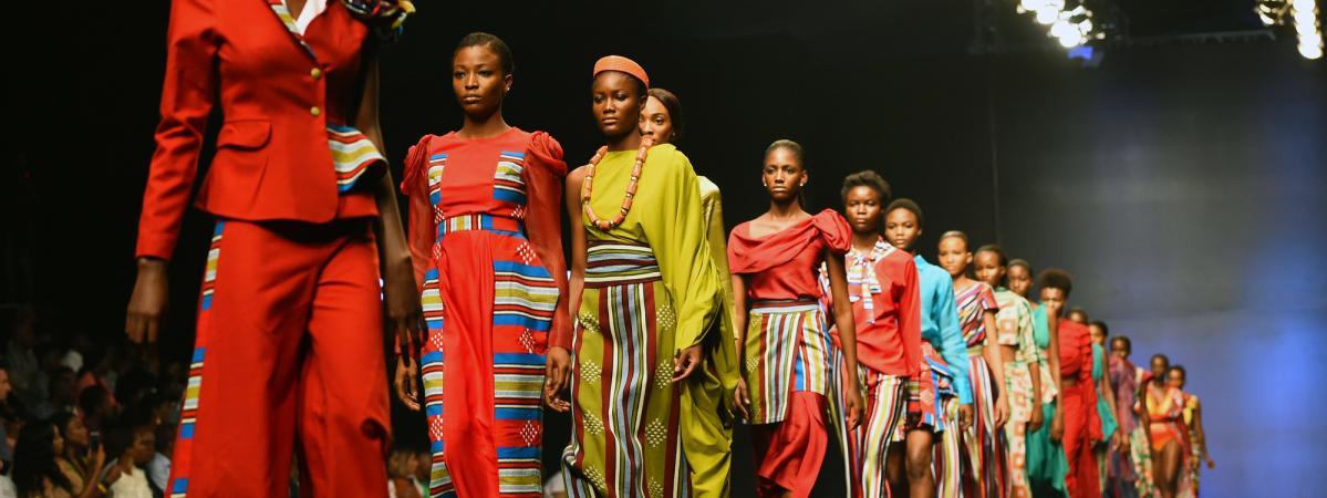 2638f1dae77da A la Fashion Week de Lagos