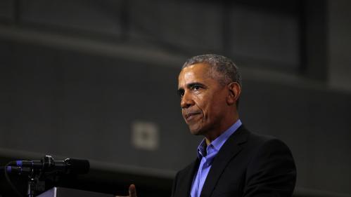 """VIDEO. En campagne pour les midterms, Obama dénonce les """"mensonges"""" de Trump"""