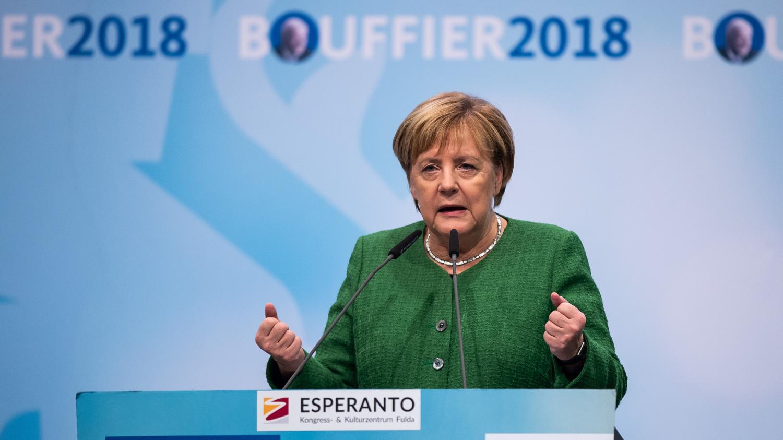 ea1cdfd34a8 Allemagne   nouveau revers électoral pour Angela Merkel lors des régionales  en Hesse