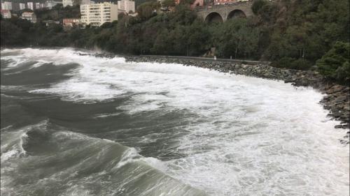 VIDEOS. La tempête Adrian balaie la Corse