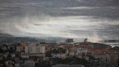 """Tempête Adrian en Corse : un phénomène """"exceptionnel"""" qui va avoir des conséquences sur toute la France"""