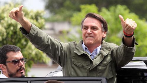 """Brésil : le président élu Jair Bolsonaro promet de défendre """"la Constitution, la démocratie"""""""