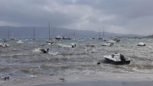 Tempête Adrian : la Corse n'est plus en alerte rouge mais 16 500 foyers restent privés d'électricité
