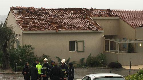 Var : une mini-tornade fait de gros dégâts dans une résidence de Tanneron
