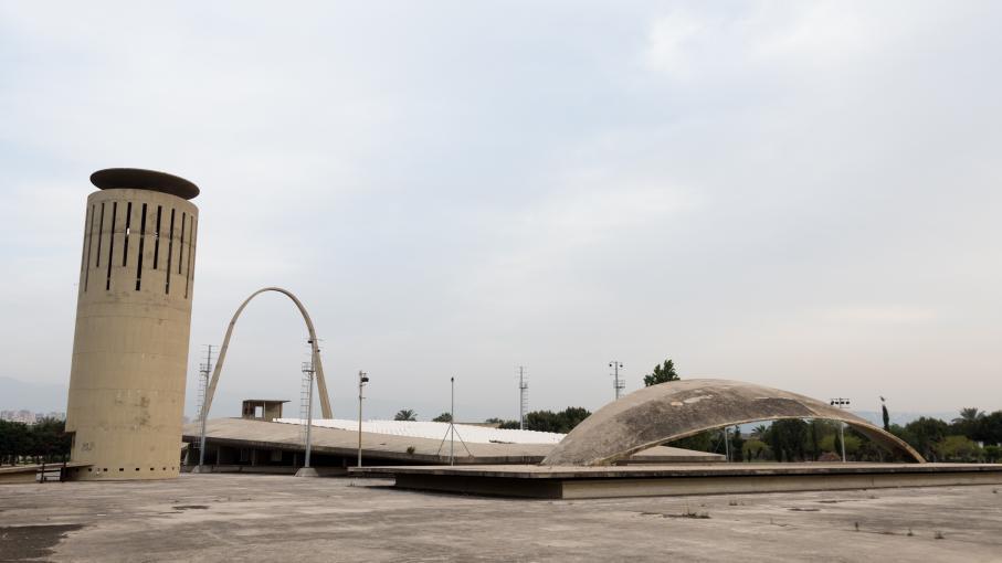 Au liban des artistes se mobilisent pour sauver une uvre for Architecte bresilien