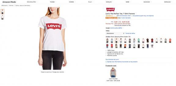 sélectionner pour plus récent produit chaud belle qualité Vous voyez des tee-shirts Levi's partout ? Nous aussi, et on ...