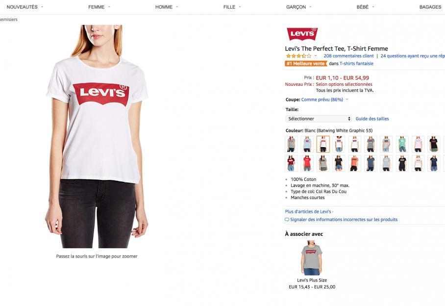 6254e1b05e3c9 Vous voyez des tee-shirts Levi's partout ? Nous aussi, et on vous explique  pourquoi