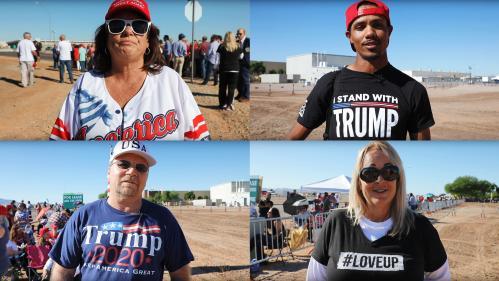 """VIDEO. """"Il est l'un des nôtres"""" : avant les """"midterms"""", des Américains nous expliquent pourquoi ils soutiennent Donald Trump"""