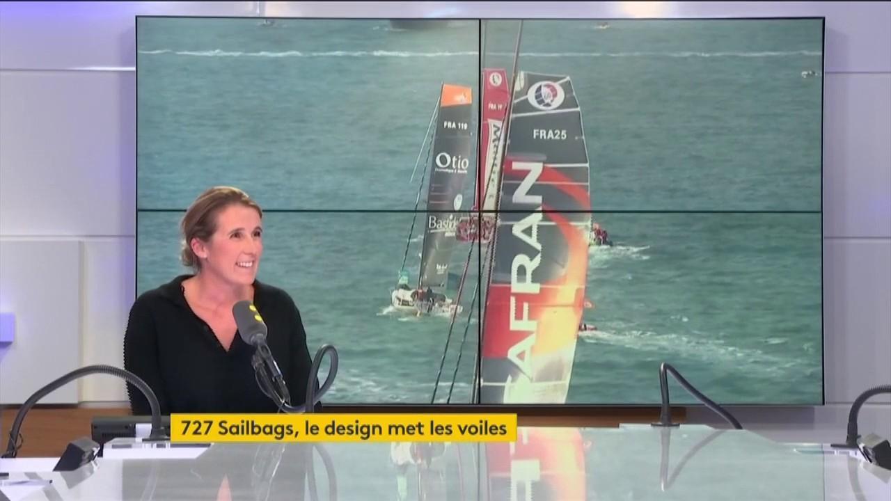 """727 sailbags"""", la pme qui donne une nouvelle vie aux voiles de bateaux"""