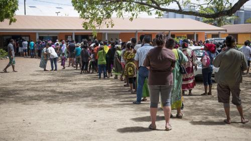 Référendum sur l'indépendance de la Nouvelle-Calédonie : près de trois électeurs sur quatre ont voté