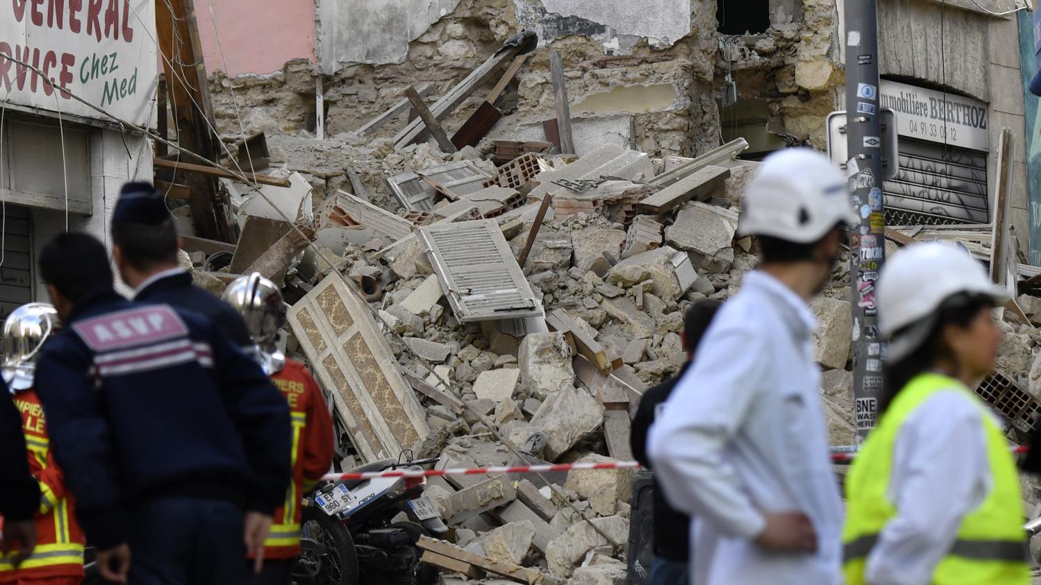 Marseille : la cité Corot est en plein délabrement