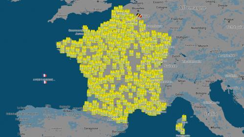 """Hausse des carburants : découvrez les futurs points de blocage annoncés par les """"gilets jaunes"""" le 17 novembre"""