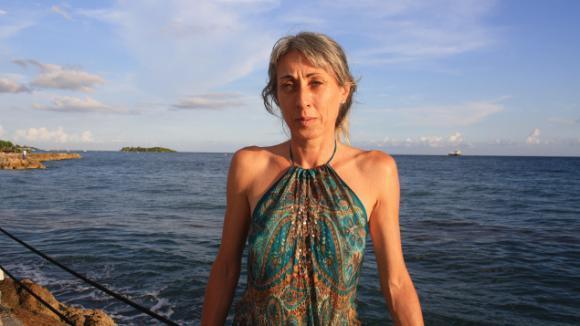 """Anne Marty en Guadeloupe :\""""Ceux qui viennent se perdre ici, au bout d\'une piste,ils fuient le monde!\"""""""