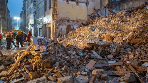 Bâtiments vétustes, découverte tardive des corps... Les questions qui se posent après l'effondrement d'immeubles à Marseille