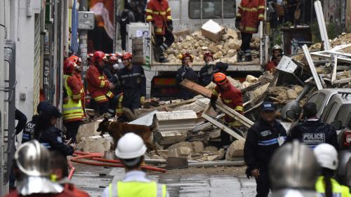Ce que l'on sait de l'effondrement de trois immeubles à Marseille qui a fait trois morts