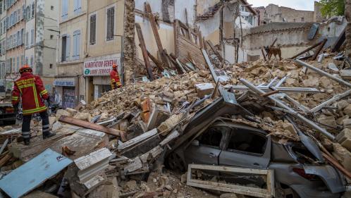 Marseille : les recherches suspendues pour détruire deux immeubles voisins des bâtiments effondrés
