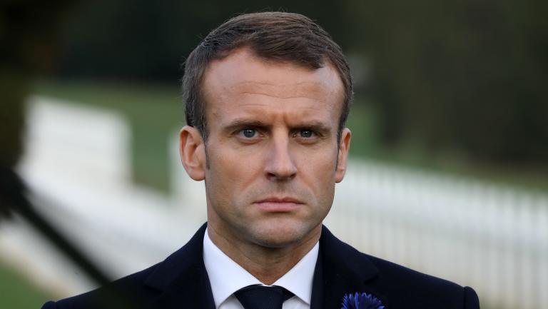 Le président de la République, Emmanuel Macron, à Verdun (Meuse), le 6 novembre 2018.
