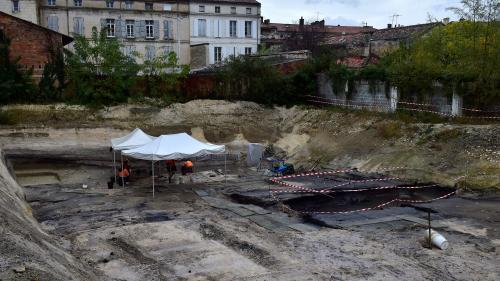 """Angoulême : découverte d'un site """"exceptionnel"""" témoin du changement climatique à la préhistoire"""