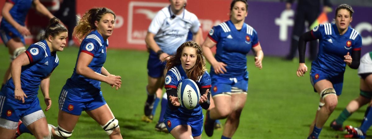 """""""Les regards sont aujourd'hui un peu plus vers nous"""" : le rugby féminin en excellente santé"""