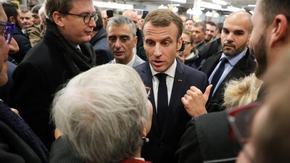 Emmanuel Macron de nouveau face à la colère des Français