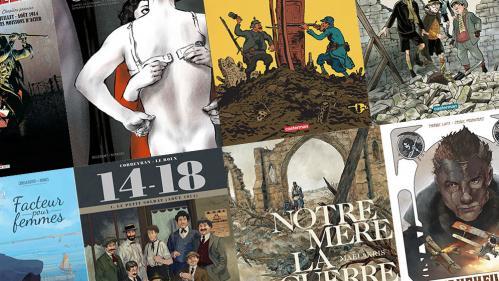 Onze BD sur la guerre 14-18 à (re)découvrir à l'occasion du centenaire du 11-Novembre