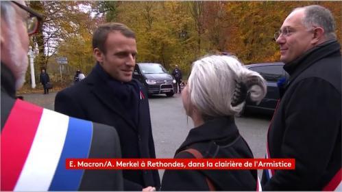 DIRECT. 11-Novembre: Emmanuel Macron est arrivé à Compiègne pour commémorer l'armistice avec Angela Merkel