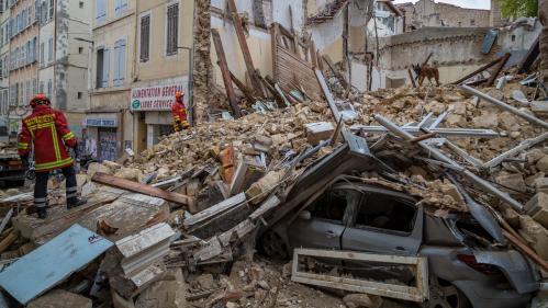 Marseille : la solidarité des habitants après l'effondrement des immeubles
