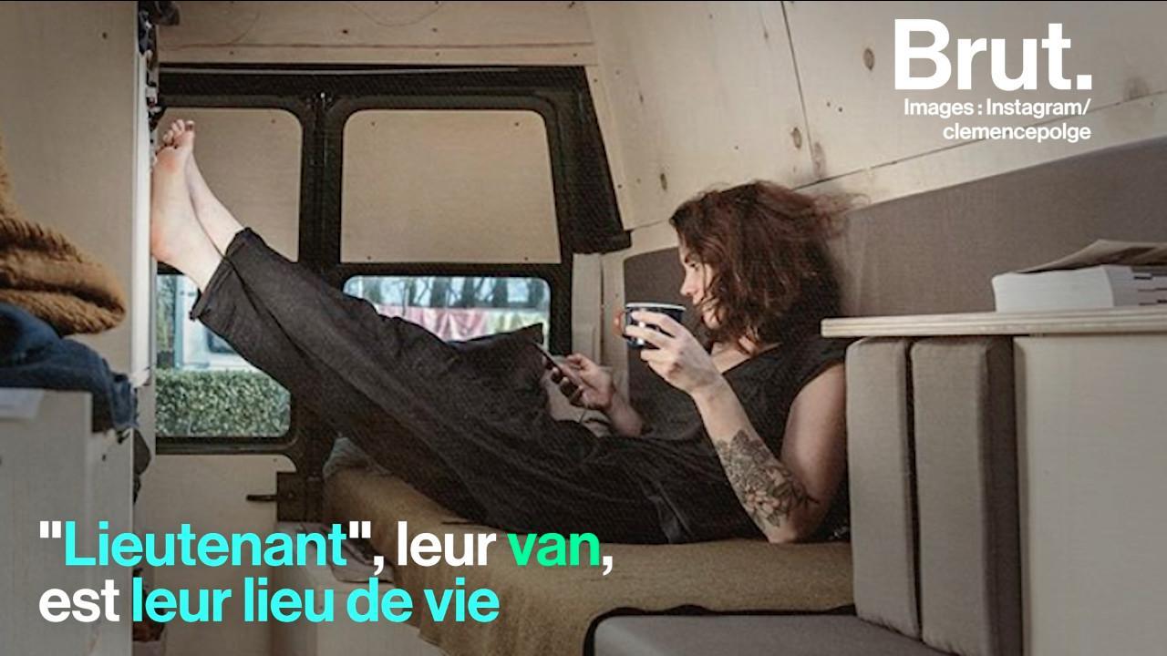 """VIDEO. """"On reprend un rythme de vie beaucoup plus naturel"""" : Ce jeune couple a choisi de vivre dans un van autour du monde"""