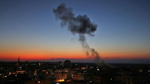 Bande de Gaza : trois Palestiniens tués par des frappes israéliennes en réponse à des tirs de roquettes du Hamas