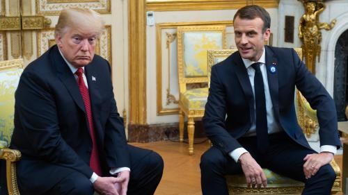 """""""Il a très mal pris le discours du 11 novembre"""" : pourquoi Donald Trump a attaqué Emmanuel Macron sur Twitter"""