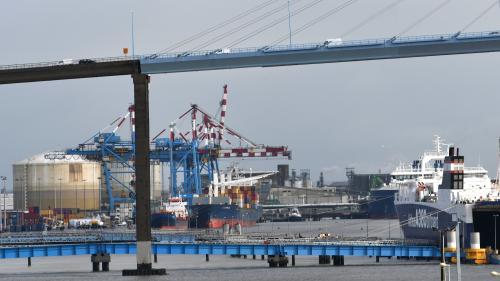 Travail illégal : des ouvriers s'enfuient du chantier naval de Saint-Nazaire