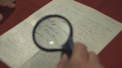Une lettre visionnaire d'Einstein