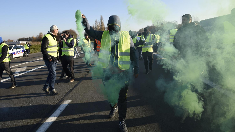 a2cbf34c971 L appel à la mobilisation a été entendu dans toute la France. Un bilan du  ministère de l Intérieur donné en début de soirée du 17 novembre fait état  de 280 ...